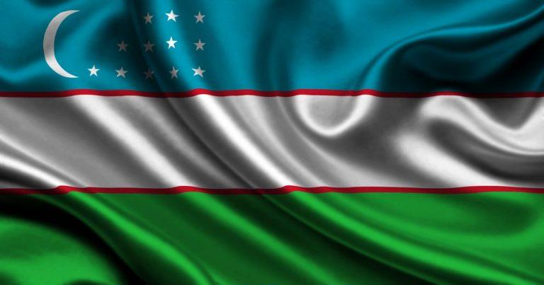Uzbekistan's Flag