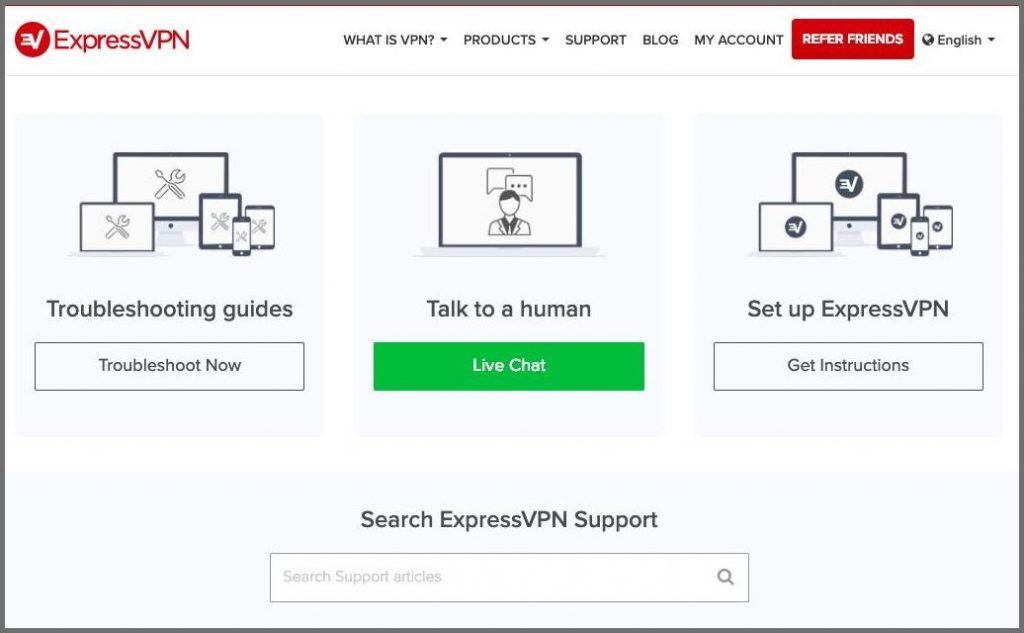 expressvpn suporte ao cliente 1