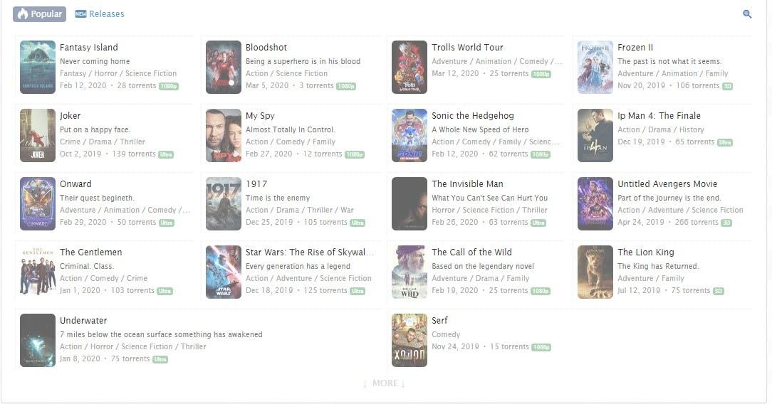 Zoogle popular downloads