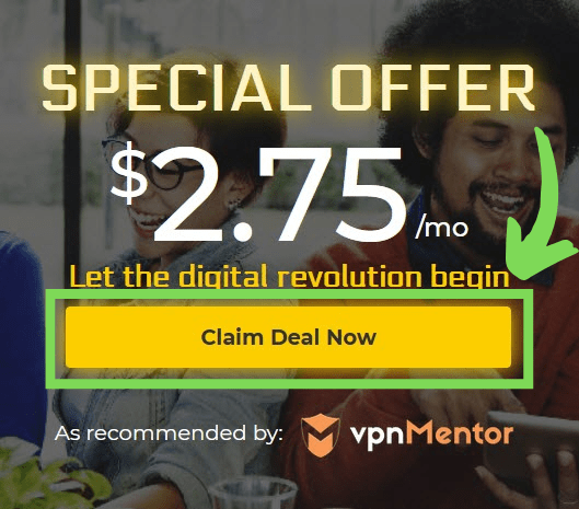 Just click Claim Deal Now to get started.