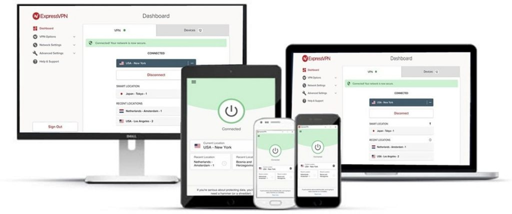 ExpressVPN devices
