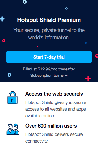 How to Get a Hotspot Shield Free Trial – Easiest Hack for 2019