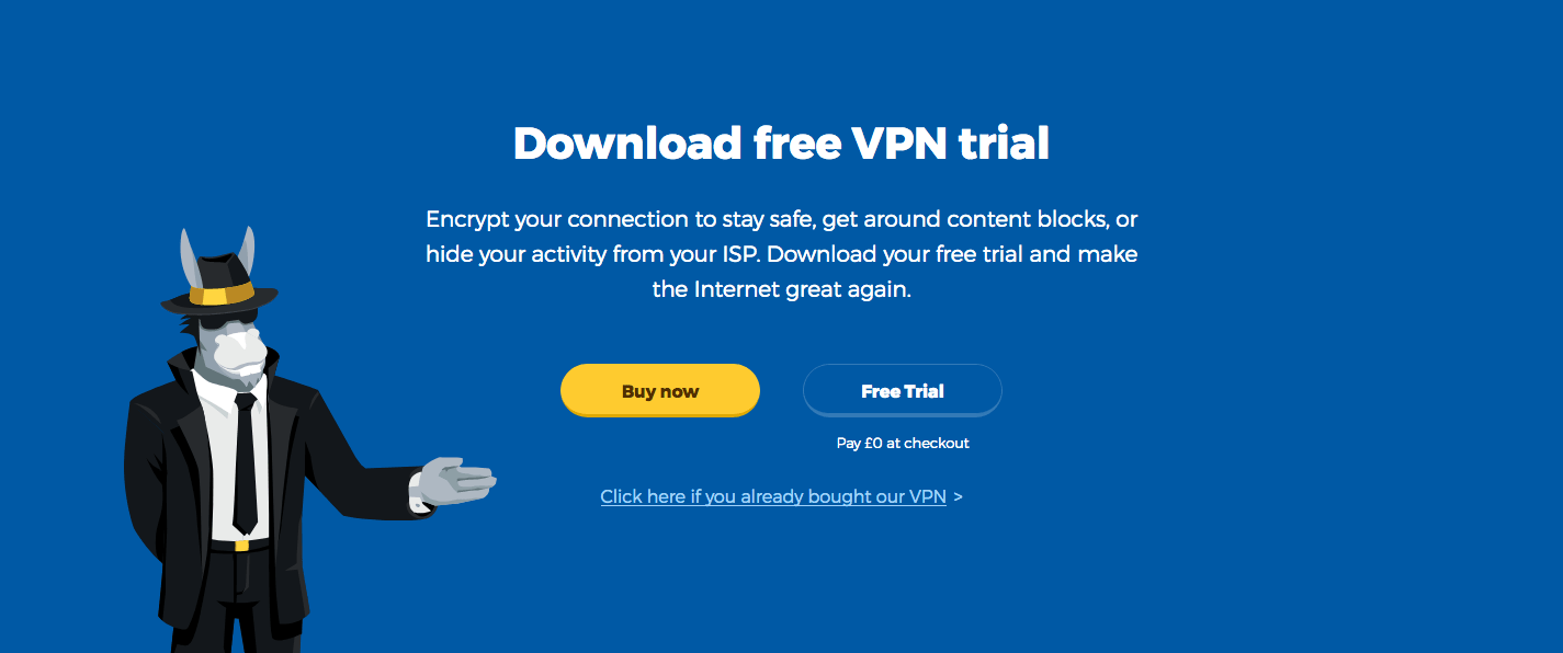 Download the HMA free trial