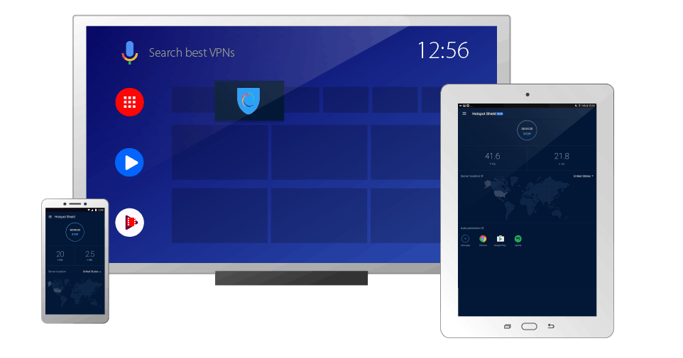 HotSpot Shield Android Device