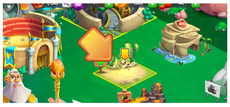 A screenshot of gaming on CactusVPN