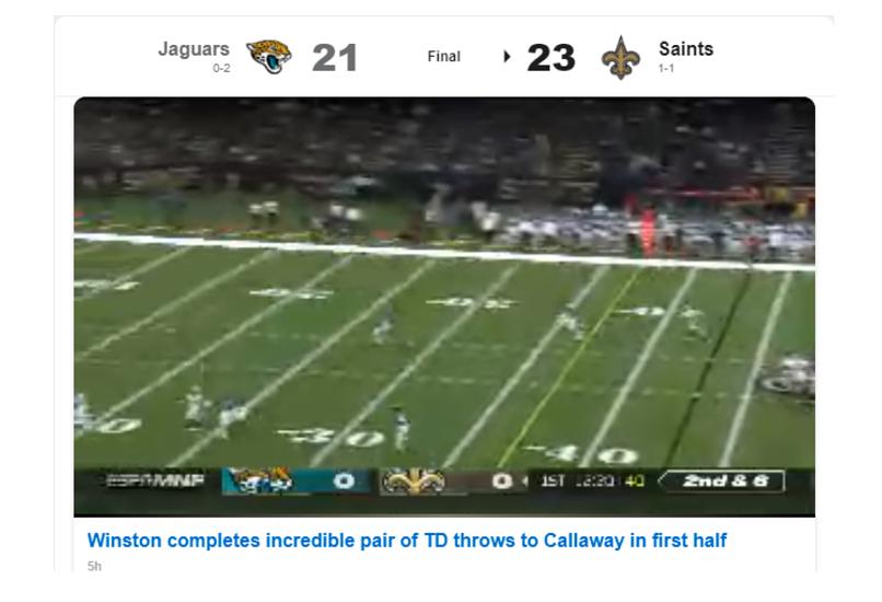 A screenshot of Tuxler unblocking ESPN.