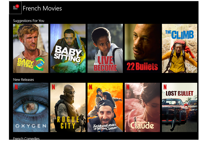 A screenshot of VPN.ht unblocking Netflix.