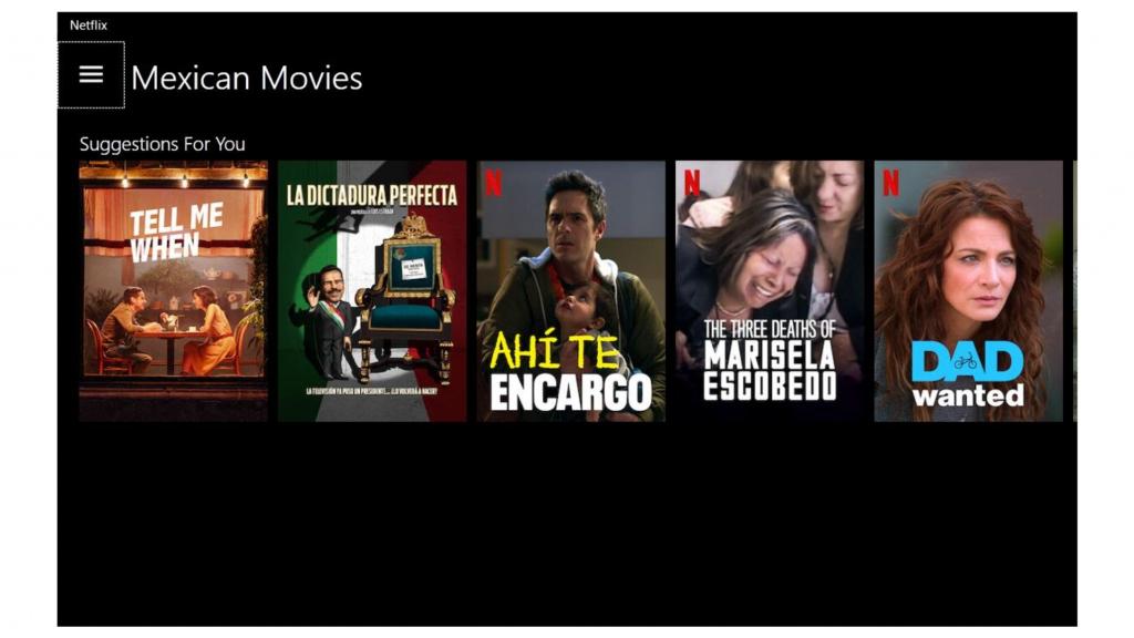 A screenshot of FrootVPN unblocking Netflix Mexico