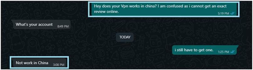 Customer service told me NetflixVPN doesn't work in China