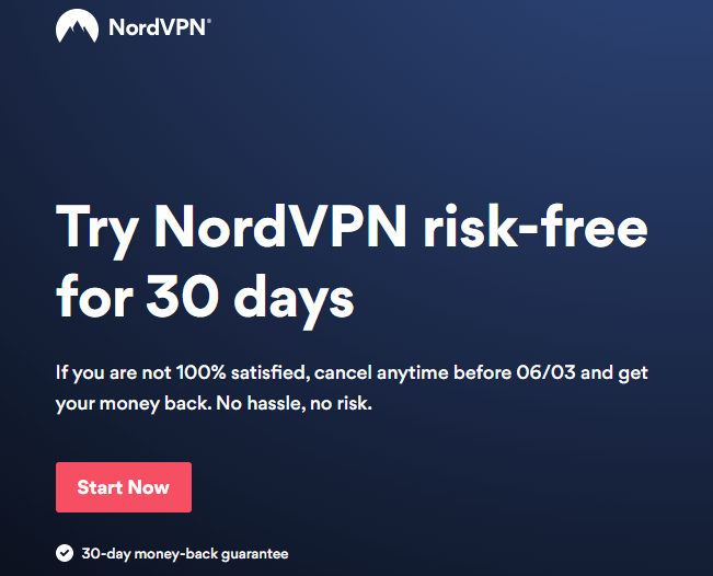 NordVPN risk-free trial
