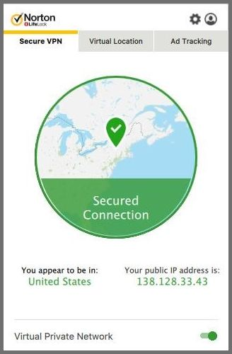 Norton Secure connection