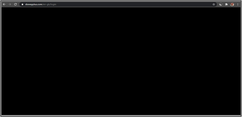 A screenshot of VPN Shield failing to unblock Disney+