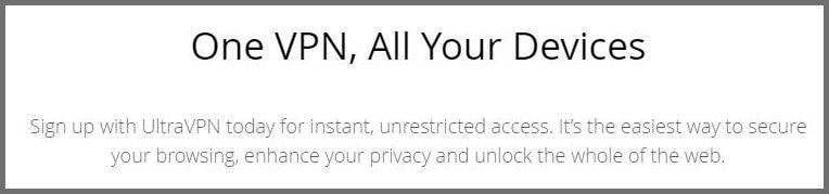 One VPN, all your devices