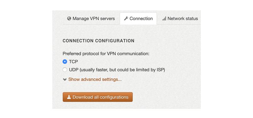 A screenshot of the ZorroVPN setup process