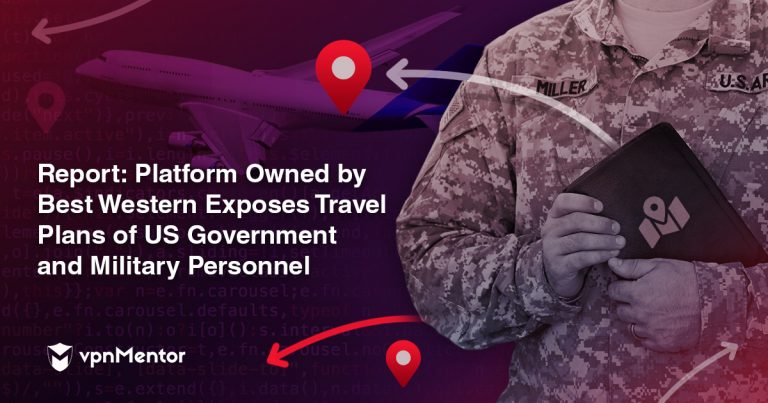 Best Western Owned Platform Exposes Travel Plans of US Government and Military Personnel