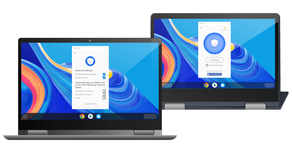 betternet chromebook