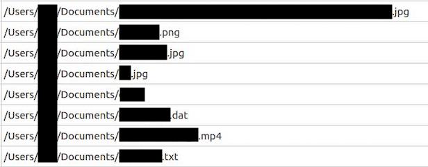 Data Deposit Box leaked file names
