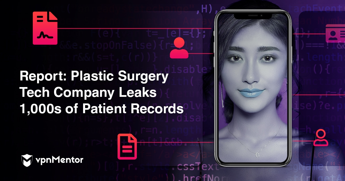 Report: 1,000s of Plastic Surgery Patients Exposed in Massive Data Leak