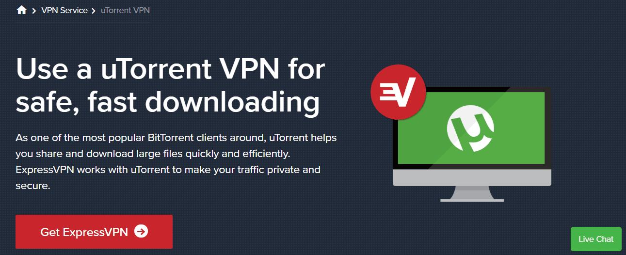 ExpressVPN torrenting image