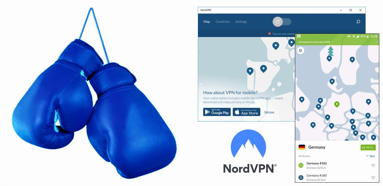 NordVPN for boxing