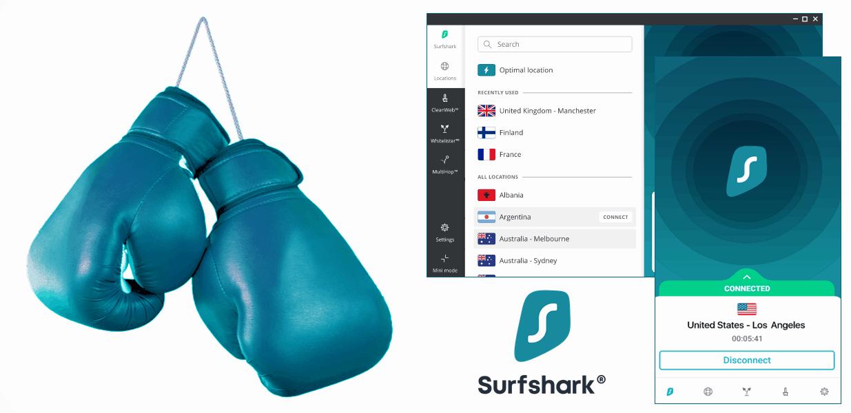 Surfshark for boxing