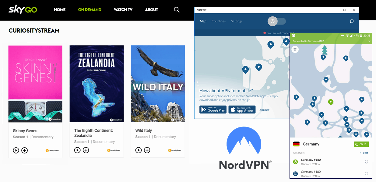 Sky Go-NordVPN