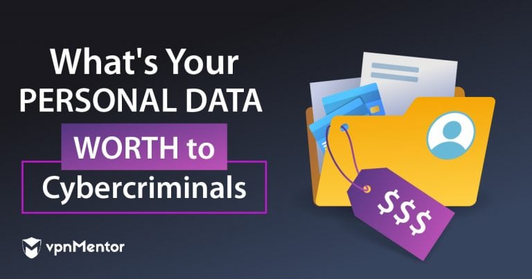 how much is personal info worth to cybercriminals?