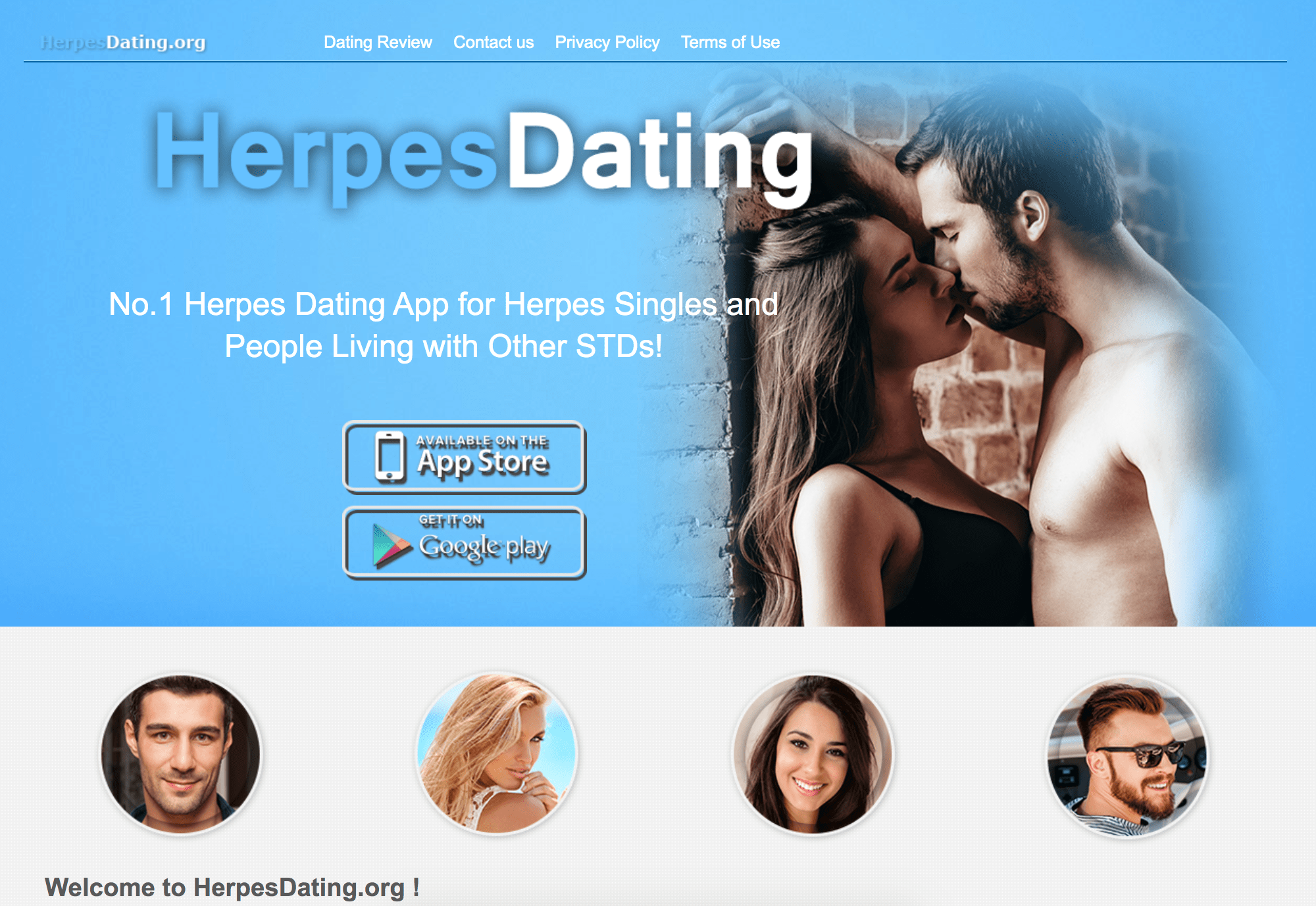 herpes dating app website
