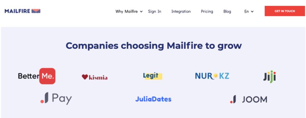 Mailfire affiliates