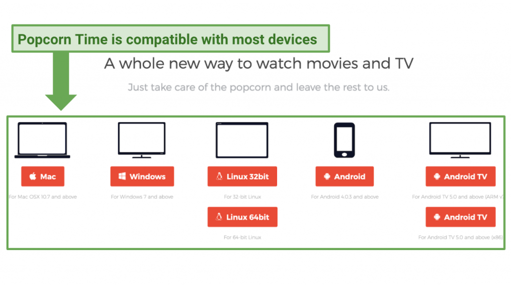 Compatible with most devices