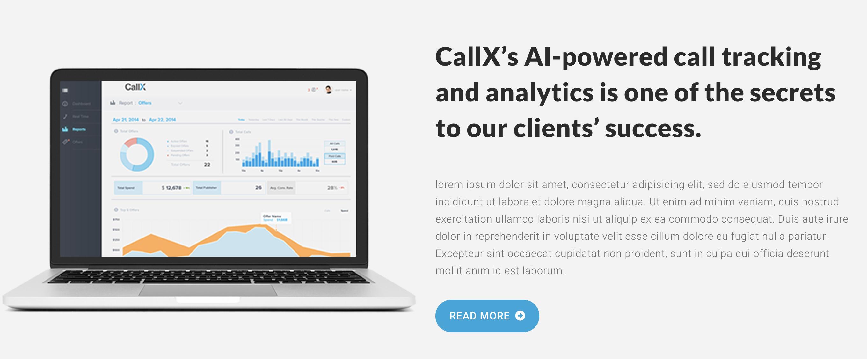 CallX website
