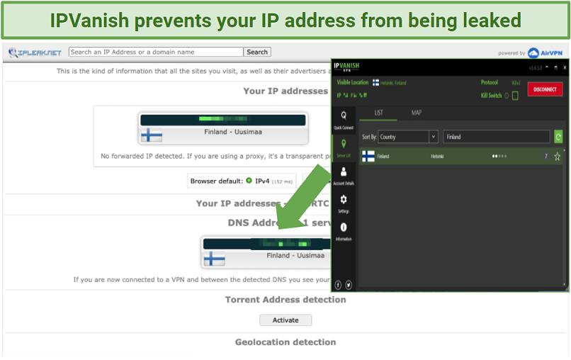 Graphic Showing IPVanish with Craigslist