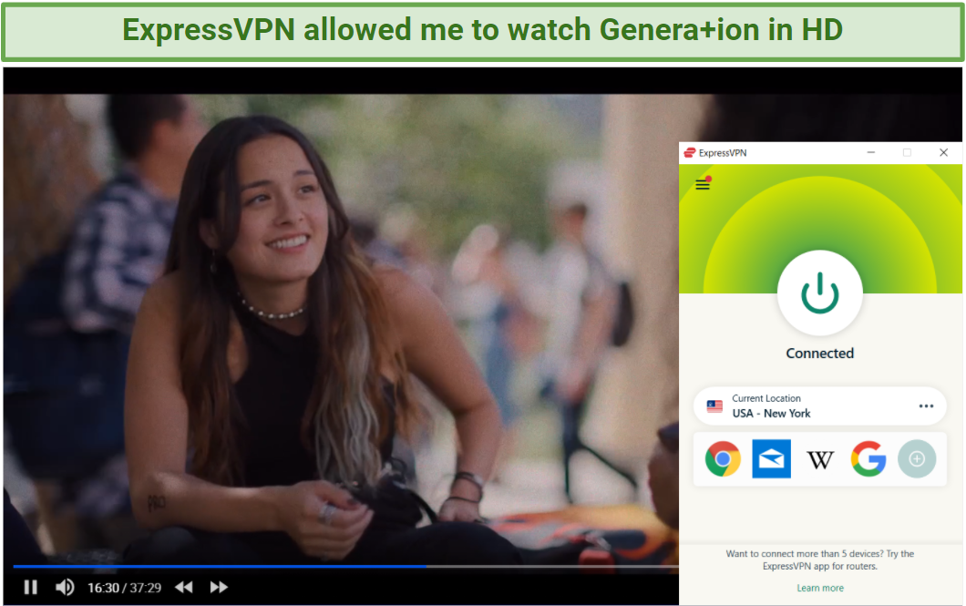 How to Watch Genera+ion From Anywhere in 2021